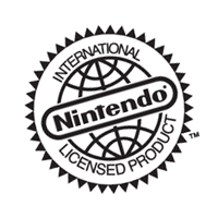 Nintendo International Licensed Product vector