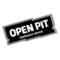 Open Pit BBQ Sauce vector