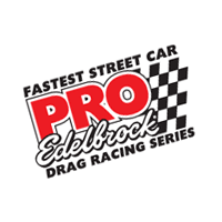 PRO-Edelbrock Drag Racing Series vector