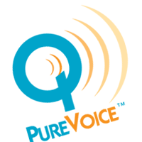 PURE VOICE vector