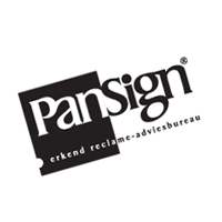 PanSign Reclame vector