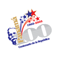 Panama 100th Year Anniversary vector