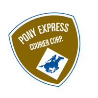 Pony Express Courier vector