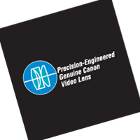 Precision-Engineered Genuine Canon Video Lens vector