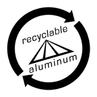 RECYCLE ALUMINUM vector