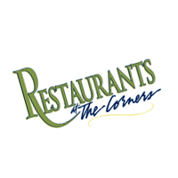 Restaurants at The Corners vector