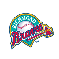Richmond Braves 24 vector