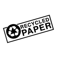 recycled paper sign download