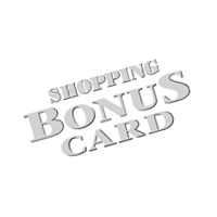 Shopping Bonus Card vector
