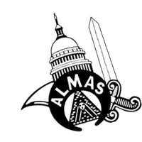 Shriners Almas vector
