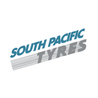 South Pacific Tyres vector