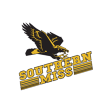 Southern Miss Golden Eagles 133 vector