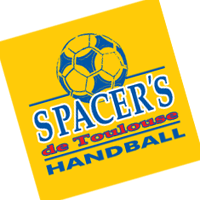 Spacer's de Toulouse Handball 9 vector