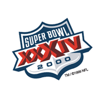 Super Bowl 2000 vector