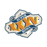 Super Bowl 2001 vector