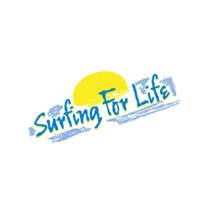 Surfing For Life vector