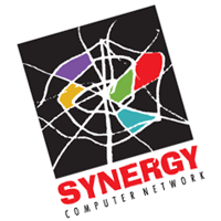 Synergy Computer Network vector