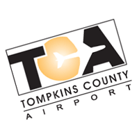 TCA Tompkins County Airport vector