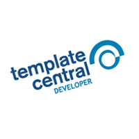 Template Central vector