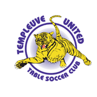 Templeuve United Table Soccer Club vector