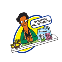 The Simpsons 117 vector