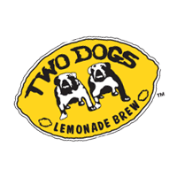 Two Dogs Lemonade vector