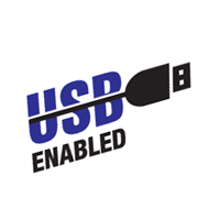 USB Enabled vector