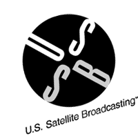 US SATELLITE BROAD vector