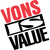VONS SUPERMAEKET vector