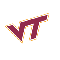 Virginia Tech Hokies 128 vector