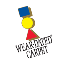 Wear-Dated Carpet vector