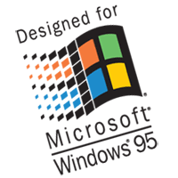 win95 design vector