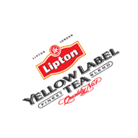 Yellow Label Tea vector